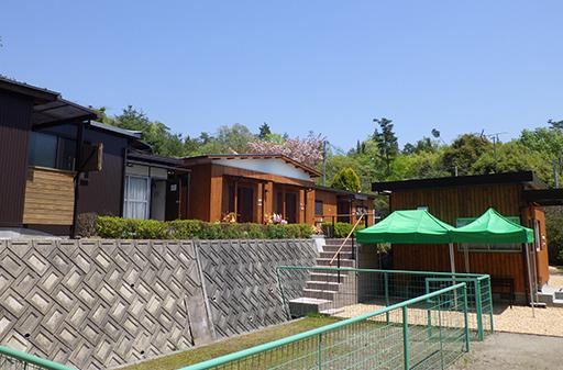 熊野霊園第二待合とミニドックラン