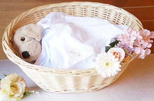 カゴ棺とお布団のセット