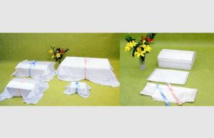 ペット用紙棺セット「虹のゆりかご」