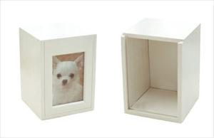 【ペット仏壇】骨壷を納めるクリメイションボックス
