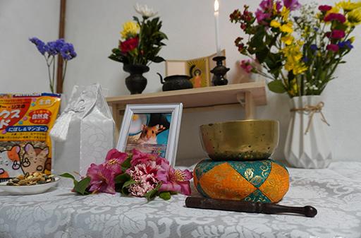 自宅葬祭壇イメージ